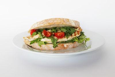 Hähnchen Sandwich