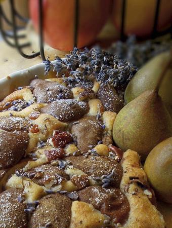 Schokoladiger Birnenkuchen