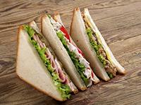 Dinkel-Thunfisch-Sandwich